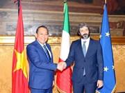 Vicepremier de Vietnam se reúne con el presidente de Cámara de Diputados de Italia