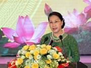 Presidenta de Parlamento insta a Bac Ninh a promover desarrollo sostenible
