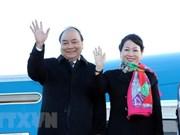 Premier de Vietnam regresa a Hanoi tras exitosa gira por Europa