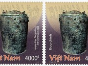 Vietnam publica colección de sellos de correo sobre tesoros nacionales