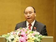 Premier vietnamita reitera determinación de cumplir el plan de desarrollo de 2018