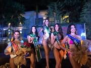 Belleza vietnamita conquista medalla de plata en competencia de trajes en Miss Tierra 2018