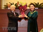 Dirigentes en el mundo felicitan a Nguyen Phu Trong por ser elegido presidente de Vietnam