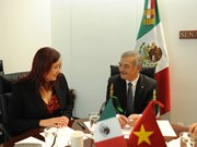 Otorga México importancia a desarrollo de relaciones multifacéticas con Vietnam