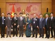 Subjefa del Parlamento de Vietnam resalta lazos con Japón en materia de salud