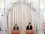 Primeros ministros de Tailandia y Malasia analizan cooperación en materia de seguridad