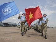 Cascos azules de Vietnam participan en anversario de ONU en Sudán del Sur