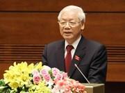 Siguen llegando felicitaciones al nuevo presidente de Vietnam