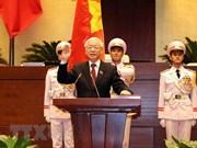 Continúan mensajes de felicitación a nuevo presidente de Vietnam