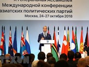Vietnam contribuye al éxito de X Conferencia Internacional de Partidos Asiáticos