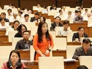 Parlamento vietnamita analiza temas vinculados al presupuesto estatal y finanzas