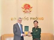 Promueven cooperación en defensa Vietnam y Nueva Zelanda