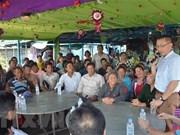 Embajador de Hanoi visita camboyanos de origen vietnamita en provincia de Kampong Chhnang