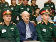 Abren juicio de apelación contra exdirectivo de empresa del Ministerio de Defensa de Vietnam