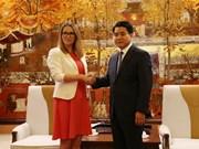 Hanoi y Gales fortalecen cooperación en educación