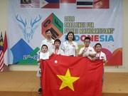Gran éxito de estudiantes vietnamitas en concurso internacional de matemática