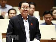 Ministro vietnamita del Interior comparece ante diputados