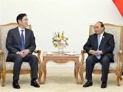 Premier de Vietnam recaba apoyo de Samsung al desarrollo de las industrias auxiliares