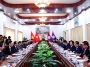 Impulsan cooperación entre Comisiones partidistas de Control Disciplinario de Vietnam y Laos