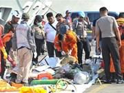 Impulsan actividades de identificación de víctimas de siniestro aéreo en Indonesia
