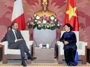 Vietnam atesora las relaciones con Francia, afirma máxima legisladora