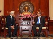 Ciudad Ho Chi Minh y prefectura japonesa de Hyogo promueven colaboración