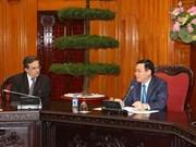 Empresas franceses desean cooperar con socios vietnamitas en distintas esferas