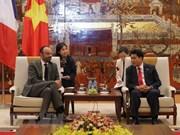 Hanoi patentiza disposición de agilizar cooperación con localidades francesas