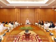 Vietnam centra en preparación de cuadros de nivel estratégico