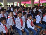 Inauguran nuevo año académico en escuela primaria para vietnamitas residentes en Camboya