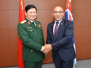 Vietnam y Nueva Zelanda fortalecen cooperación en defensa
