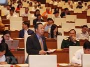 Parlamento de Vietnam debate proyectos de leyes de Educación Superior y Policía Popular