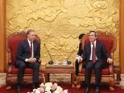 Partidos Comunistas de Vietnam y Rusia fortalecen cooperación