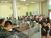 Puerta fronteriza entre Vietnam y China recibe al visitante número 10 millones