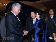 Presidente de Cuba inicia visita oficial a Vietnam