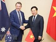 Jefe del Territorio Norte australiano reitera voluntad de fomentar nexos con Vietnam