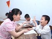 Alumnos vietnamitas compiten en concurso global de TI para jóvenes con discapacidades