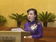 Parlamento vietnamita continuará debate sobre proyectos de leyes importantes