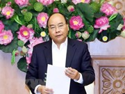 Premier de Vietnam preside primera sesión del Subcomité de Economía Social