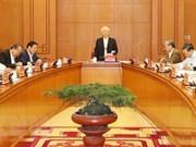 Máximo dirigente político de Vietnam insta a sancionar a entidades ineficientes en lucha anticorrupción