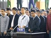 Inician juicio de primera instancia del caso de juegos de apuestas en Vietnam