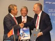 Aerolíneas vietnamita e israelí estrechan cooperación bilateral