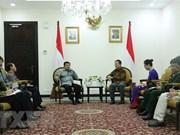 Vietnam e Indonesia desarrollan relaciones de cooperación