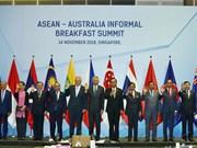 ASEAN y Australia acuerdan fortalecer cooperación en sectores de prioridad