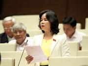 Asamblea Nacional de Vietnam revisa proyectos de leyes de Educación y Gestión Tributaria