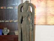 Exhiben primera estatua de la diosa Saraswati encontrada en Vietnam