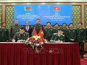 Vietnam y Belarús firman acuerdo de cooperación en ciencia militar