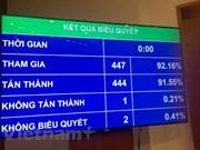 Asamblea Nacional de Vietnam aprueba la Ley de Protección de Secretos Estatales
