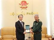 Cooperación en defensa, uno de los pilares importantes de relaciones Vietnam-China