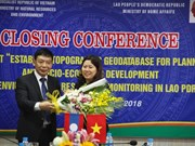 Vietnam asiste al trazo de datos topográficos de Laos